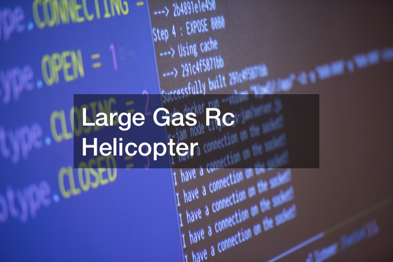 Large Gas Rc Helicopter