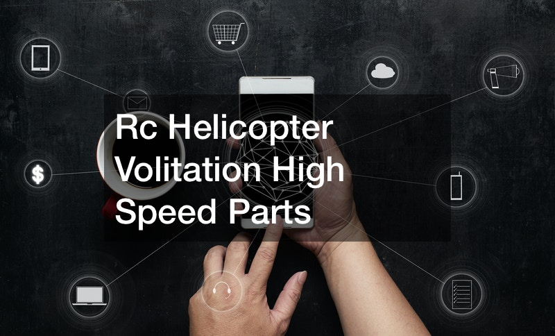 Rc Helicopter Volitation High Speed Parts